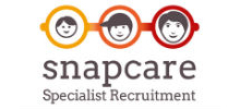 Snap Care's logo takes you to their list of jobs