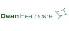 Dean Healthcare's logo takes you to their list of jobs