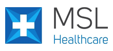 MSL Healthcare's logo takes you to their list of jobs