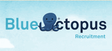 Blue Octopus Recruitment's logo takes you to their list of jobs