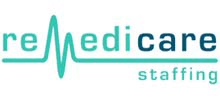 Remedicare Staffing's logo takes you to their list of jobs