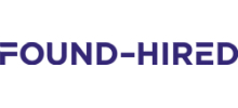 Found - Hired's logo takes you to their list of jobs