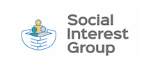 Social Interest Group's logo takes you to their list of jobs