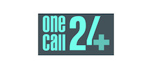 One Call 24's logo takes you to their list of jobs