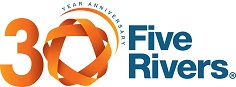 Five Rivers Child Care Ltd's logo takes you to their list of jobs