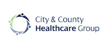City and County Healthcare Group's logo takes you to their list of jobs
