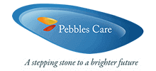 Pebbles Care Ltd's logo takes you to their list of jobs