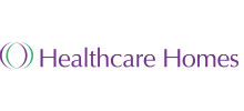 Healthcare Homes's logo takes you to their list of jobs