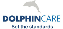 Dolphin Care's logo takes you to their list of jobs