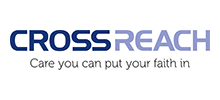 CrossReach's logo takes you to their list of jobs