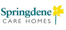 Springdene Care's logo takes you to their list of jobs
