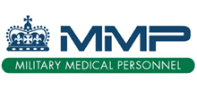 Military Medical Personnel's logo takes you to their list of jobs