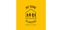My Home Plumstead's logo takes you to their list of jobs