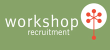 Workshop Recruitment's logo takes you to their list of jobs