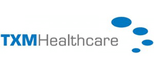 TXM Healthcare's logo takes you to their list of jobs