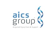 The AICS Group's logo takes you to their list of jobs