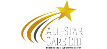 All Star Care's logo takes you to their list of jobs