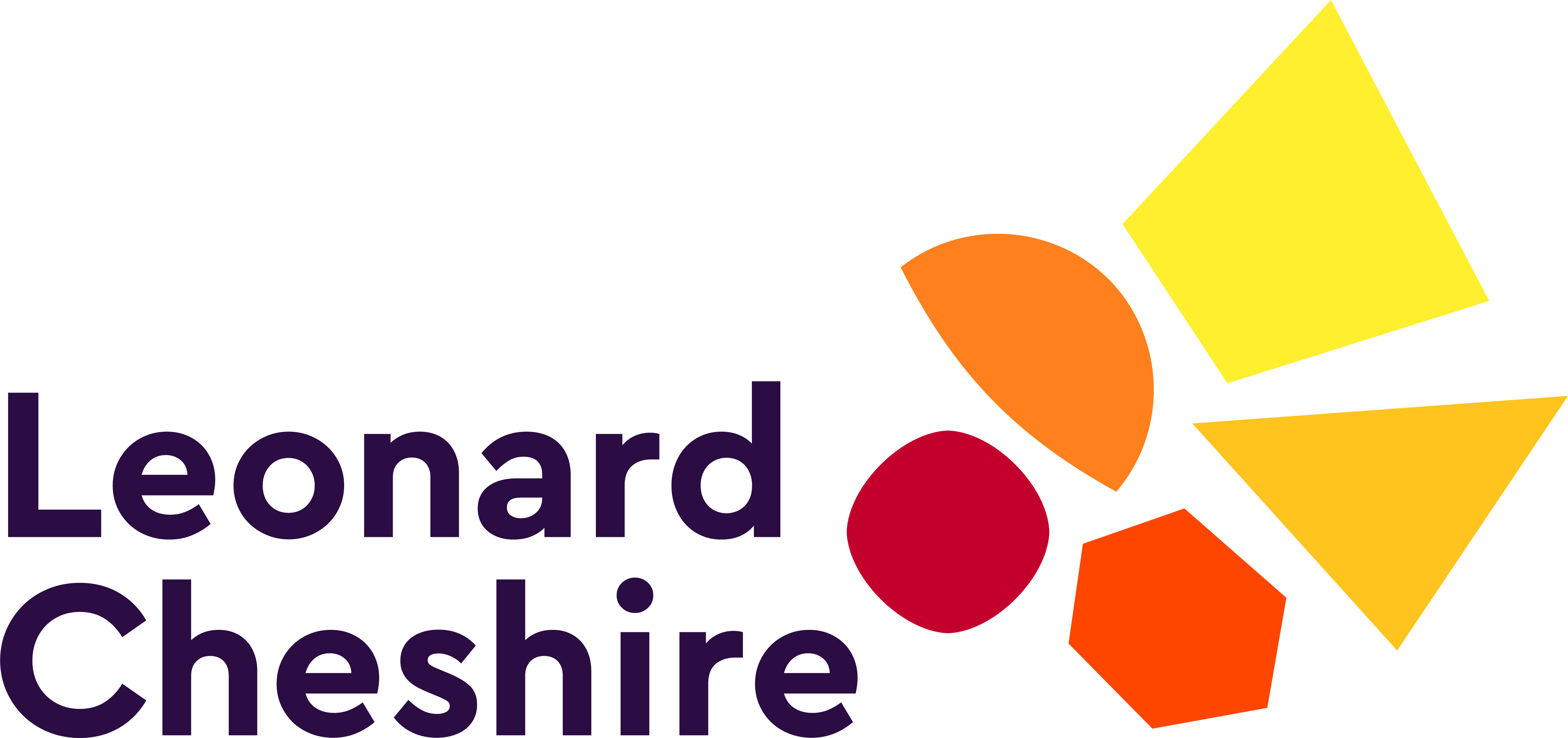 Leonard Cheshire Disability's logo takes you to their list of jobs