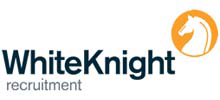 White Knight Recruitment's logo takes you to their list of jobs