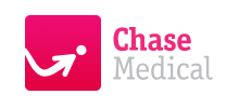 Chase Medical's logo takes you to their list of jobs