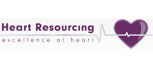 Heart Resourcing's logo takes you to their list of jobs