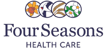 Four Seasons Health Care's logo takes you to their list of jobs
