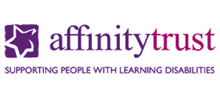 Affinity Trust's logo takes you to their list of jobs