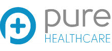 Pure Healthcare's logo takes you to their list of jobs